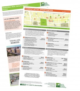 Click on the image to view a listing of available commercial spaces.