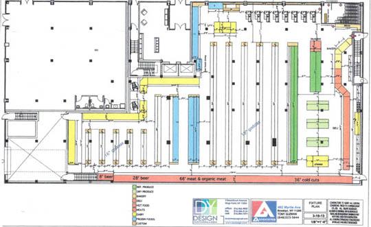 Associated Supermarket Shares New Floor Plan - Myrtle Avenue ...
