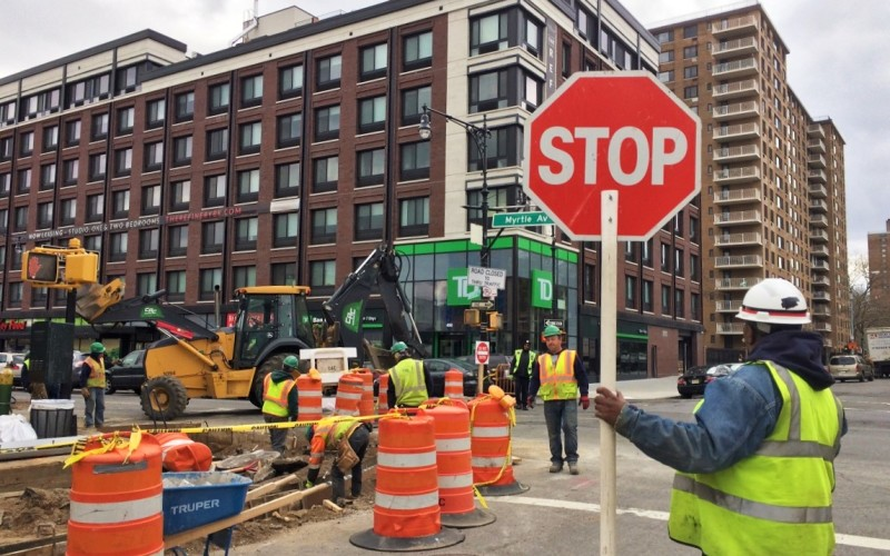 Plaza Construction at Hall Street_April_ 2016 (6)