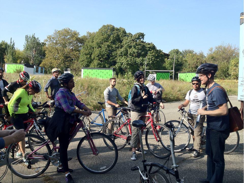 Bike Tours at BLDG92 Navy Yard