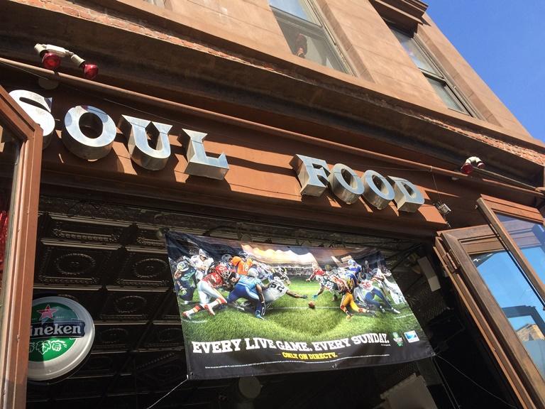 Five Spot Football on Myrtle Avenue