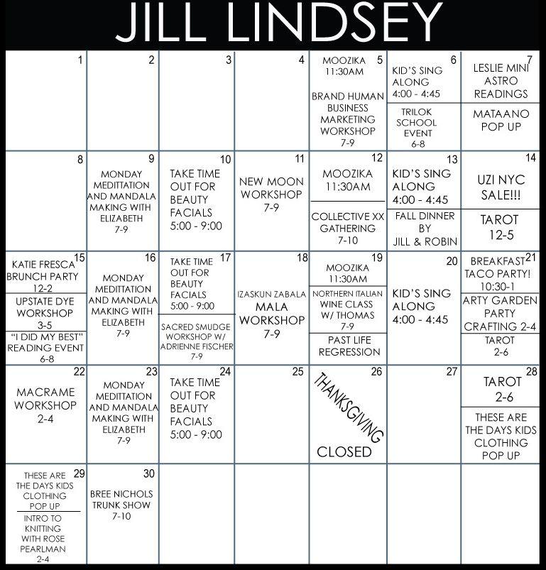 Jill Lindsey November