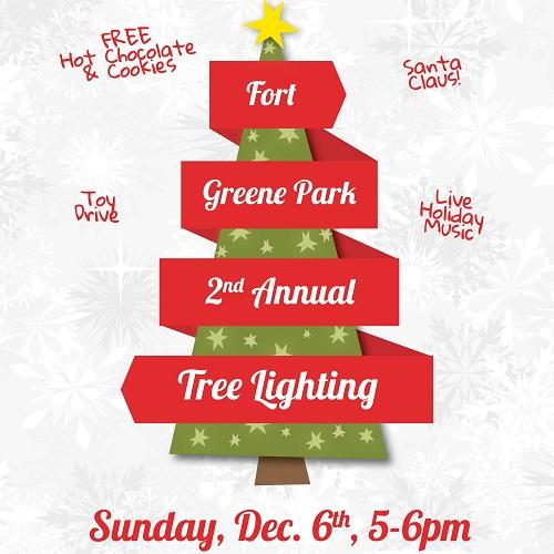 Tree Lighting Invite (Square)