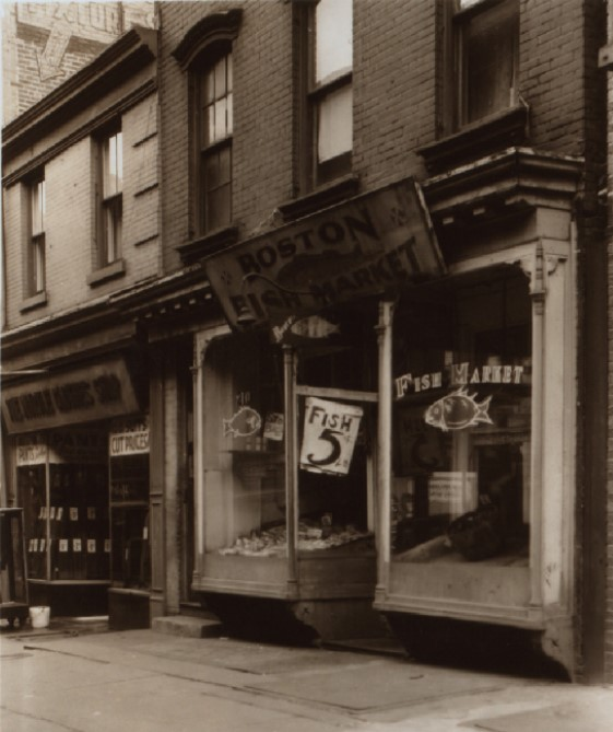 210 Myrtle Avenue, seen in 1940. Photo Credit: NYPL.