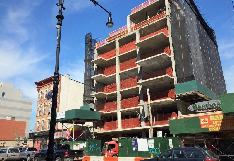525 Myrtle Avenue: Former site of Myrtle Car between Steuben and Grand Ave.