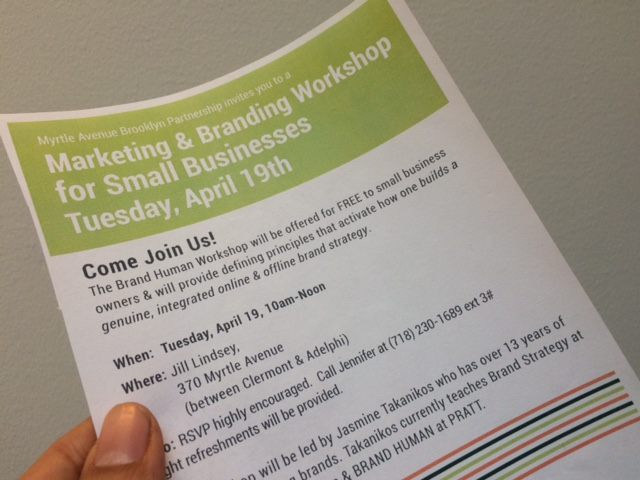 SMall Business workshop