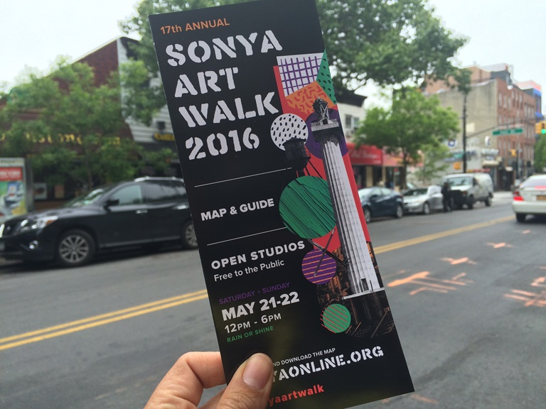 SONYA Artwalk 2016 Clinton Hill Fort Greene Bed Stuy