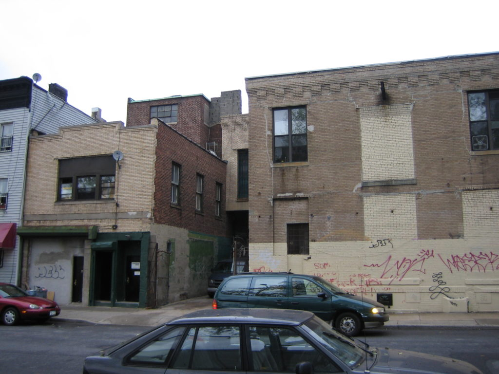 135 Emerson, seen in 2005, prior to the demolition of the M.H. Renken Dairy complex.