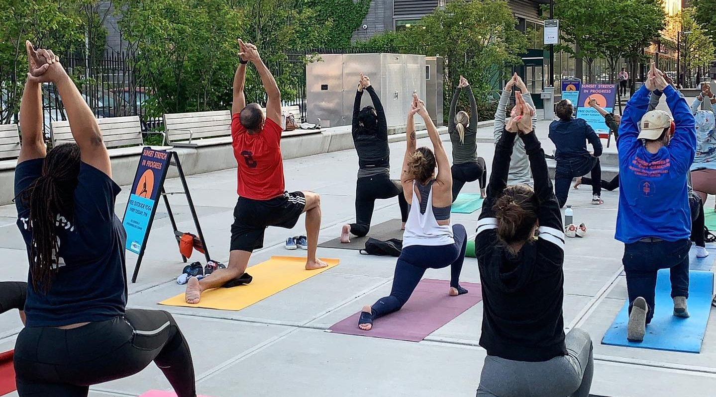 FREE Outdoor Yoga Every Tuesday