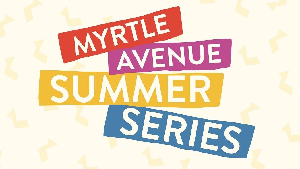 Dance Night in Myrtle Avenue Plaza - Myrtle Avenue Brooklyn